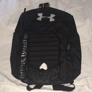 Unisex black Under Armour backpack